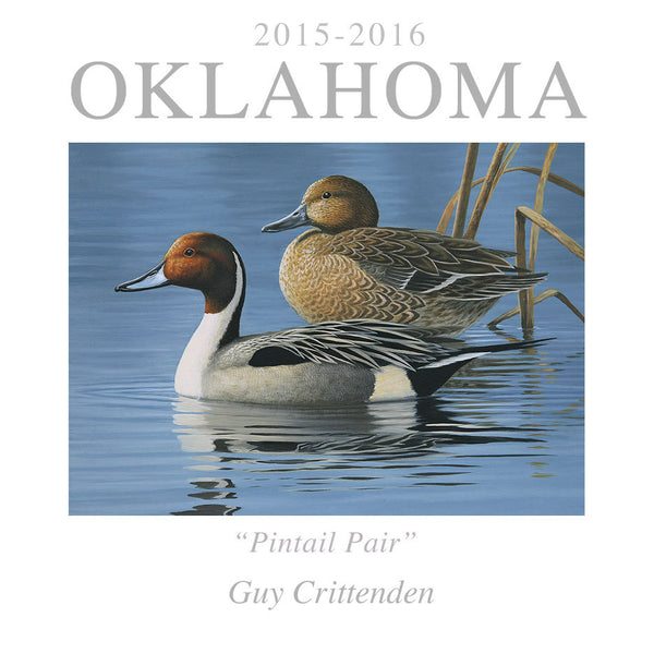 """2015 Oklahoma Duck Stamp"""