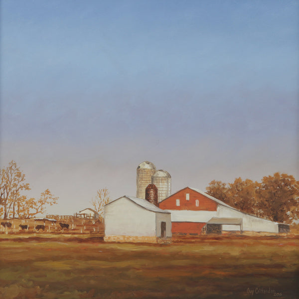 """Red Barn Near Stuart's Draft"" -  Virginia"