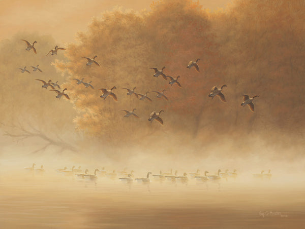 """Morning Rendezvous"" - Canada Geese - SOLD"