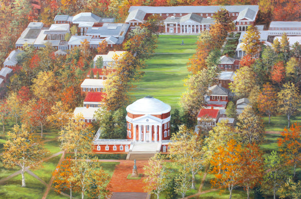 """UVA Rotunda and Lawn""  -  SOLD"