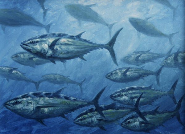"""Tuna School""  -  SOLD"