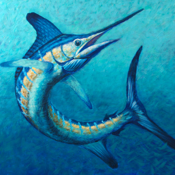 """White Marlin Twist""  -  Original AVAILABLE"