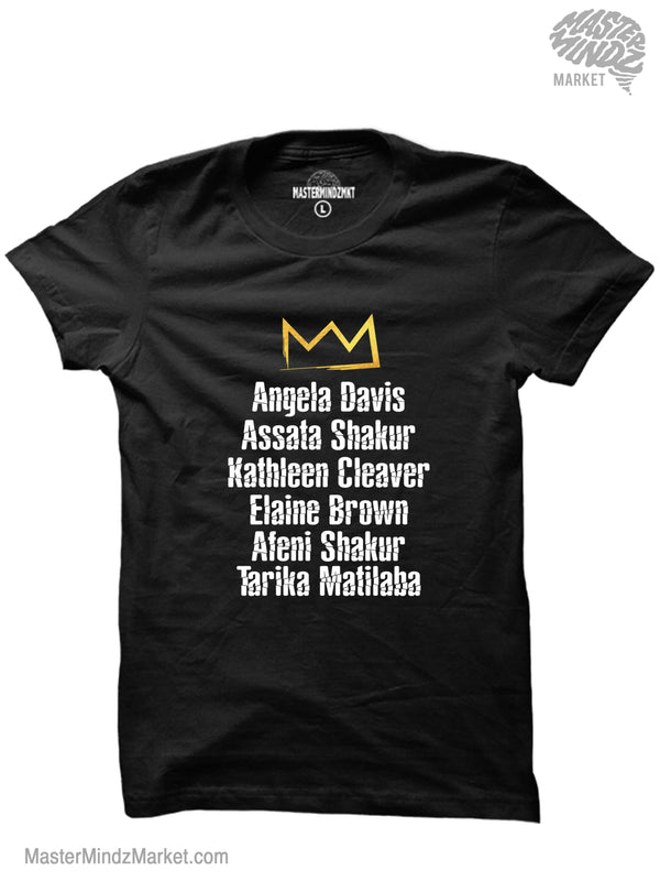 Famous Women of the Black Panther Party T-shirts