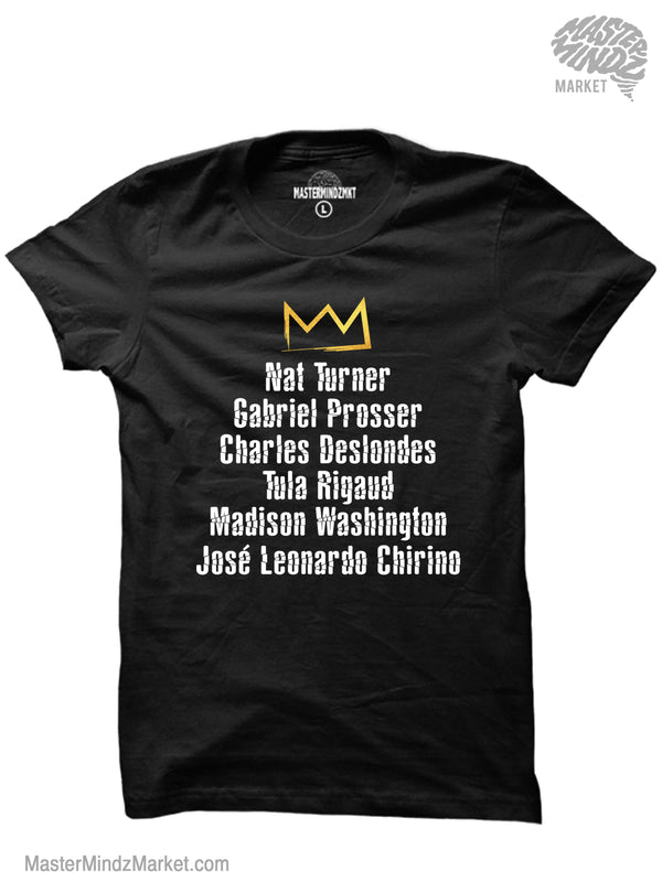 Popular Black Freedom Fighters T-shirts