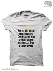 Black Women Activist and Political Leaders T-shirts