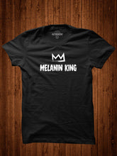 Load image into Gallery viewer, Melanin King, Black History Month, Black Lives Matter, Black Pride, Black Empowerment, Afrocentric, Inspirational Shirt, Gift for him