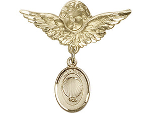 Baptism Medal / Badge Pin