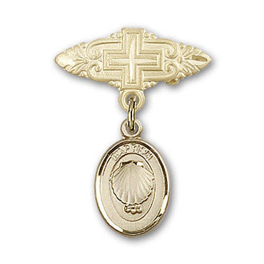 GF Badge w/ Baptism Medal