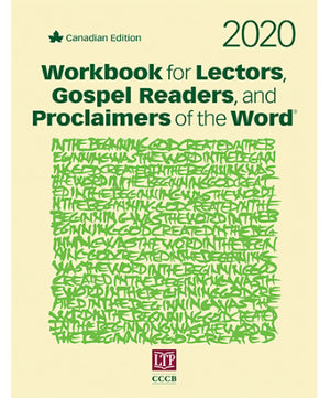 Workbook for Lectors, Gospel Readers, and Proclaimers of the Word 2020, Canadian Edition