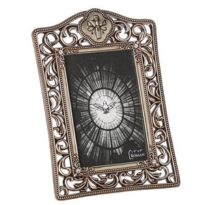 Silver Scroll Confirmation Photo Frame