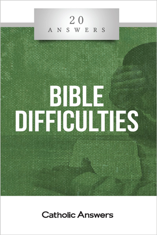 20 Answers Bible Difficulty