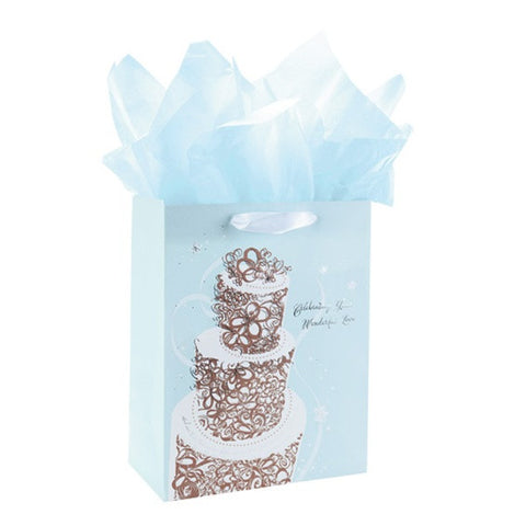 Celebrating Love Large Gift Bag with tissue