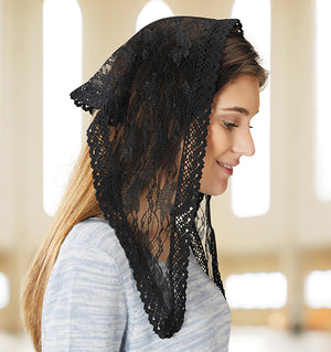 Chapel Veil - Short Black