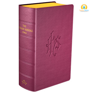 Daily Missal 1962 Burgundy (Latin)