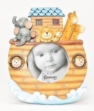 "6"" Noah's Ark Photo Frame"