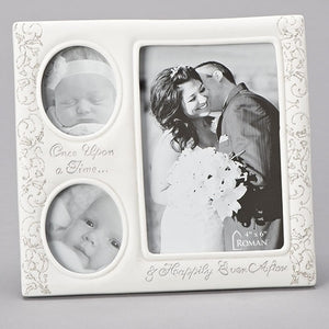 "7.75"" Then and Now Wedding Frame"