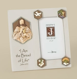 JS Bread of Life Wall Frame 7""