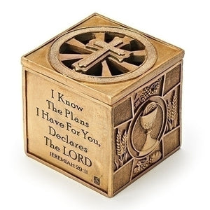 "3.6"" Multi-Sacrament Keepsake Box"