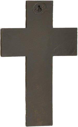 "8.75"" Distressed First Communion Wall Cross"