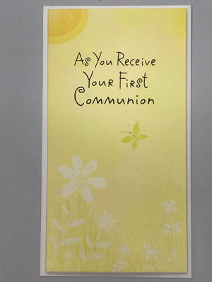 Communion General - Money Card