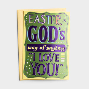 Easter Card 76665