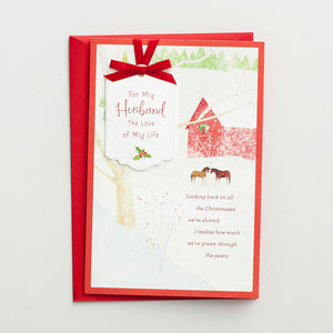 Christmas Card - Husband