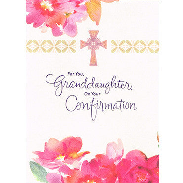 Confirmation Granddaughter