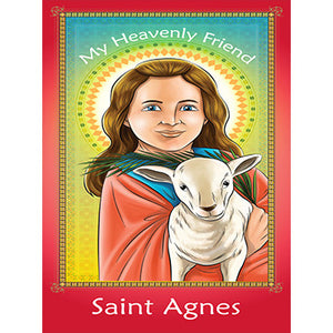 Prayer Card - Saint Agnes