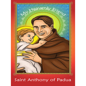Prayer Card - Saint Anthony of Padua (Pack of 25)