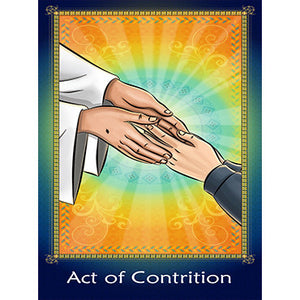 Prayer Card - Act of Contrition (Pack of 25)