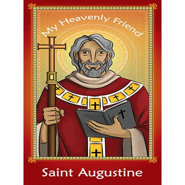 Prayer Card - Saint Augustine