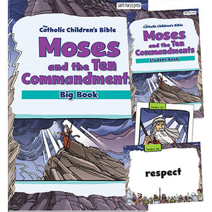 Moses and the Ten Commandments Big Book Set