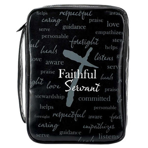 Bible Case - Vinyl-Faithful Servant