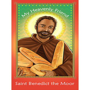Prayer Card - Saint Benedict the Moor