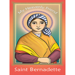 Prayer Card - Saint Bernadette (Pack of 25)
