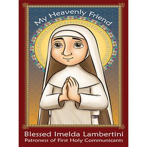 Prayer Card - Blessed Imelda Lambertini (Pack of 25)