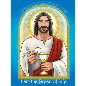 "Poster - Bread of Life (Communion) 18""x24"""