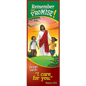Bookmark - Remember the Promise! I Care For You...Hebrews 13:5 (Pack of 25)