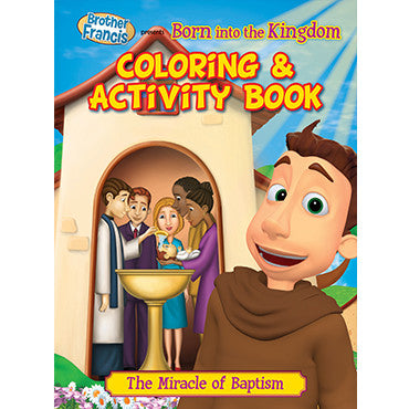 Colouring Book Born into the Kingdom