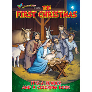 Colouring Book The First Christmas