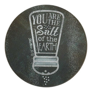 You Are the Salt - Glass Cutting Board