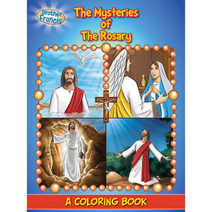 Colouring Book The Mysteries of the Rosary