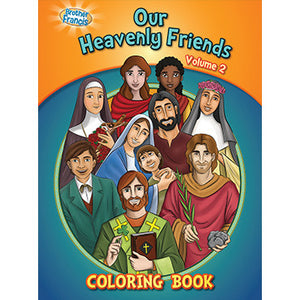 Colouring Book Our Heavenly Friend Vol. 2