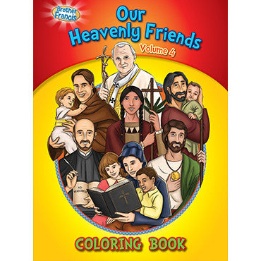 Colouring Book Our Heavenly Friends Vol. 4