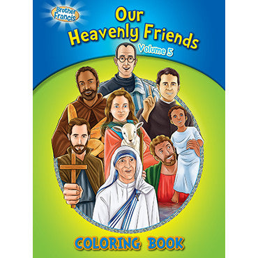 Colouring Book Our Heavenly Friends Vol. 5