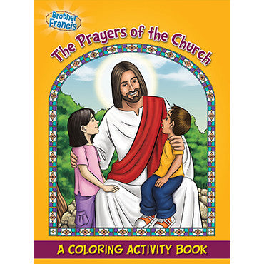 Colouring Book The Prayers of the Church