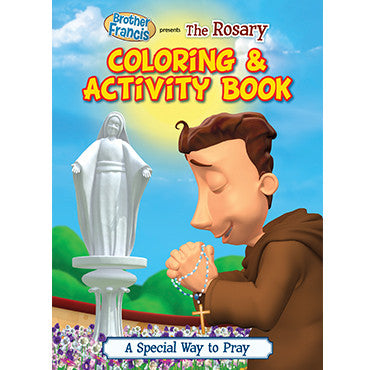 Colouring Book The Rosary
