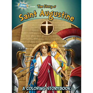 Colouring Book The Story of Saint Augustine