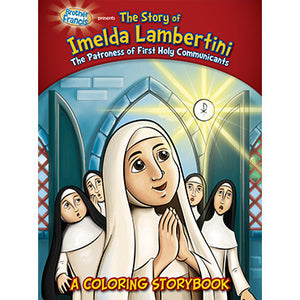 Colouring Book The Story of Imelda Lambertini
