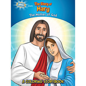 Colouring Book The Story of Mary